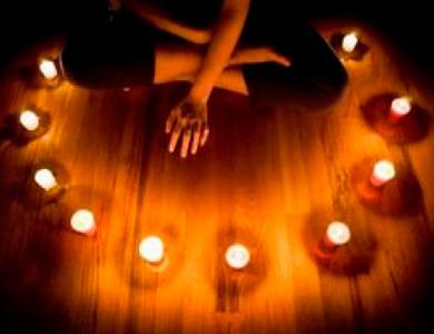 свечи-круг